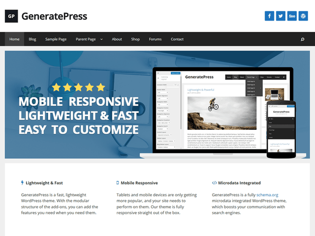 豊富なデザインでホームページ作成
