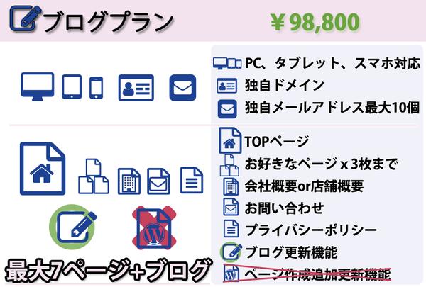 ホームページ制作のWEBRARA|スマホ対応!しっかり多機能でも格安!ブログプラン